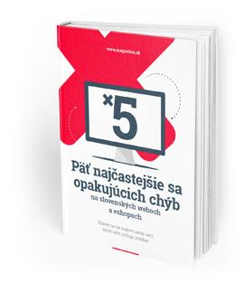 Ebook Päť najčastejšie sa opakujúcich chýb - magnetica.sk