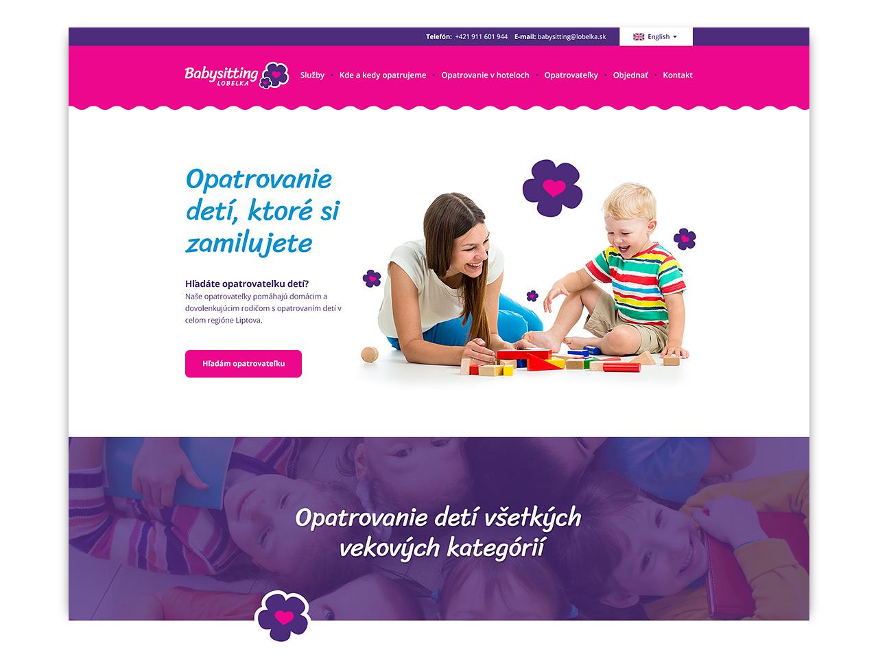 Referencia Babysitting Lobelka LM - magnetica.sk
