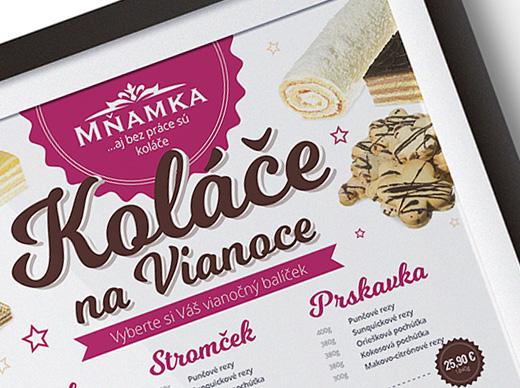 Mňamka - plagát balíčky