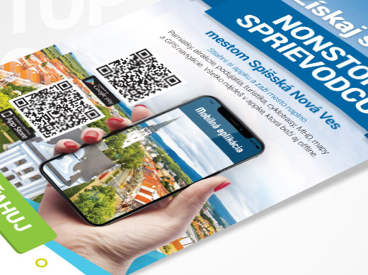 Leták Mobilná aplikácia