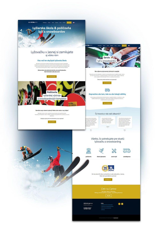 Referencia nová webstránka Crystalski - magnetica.sk