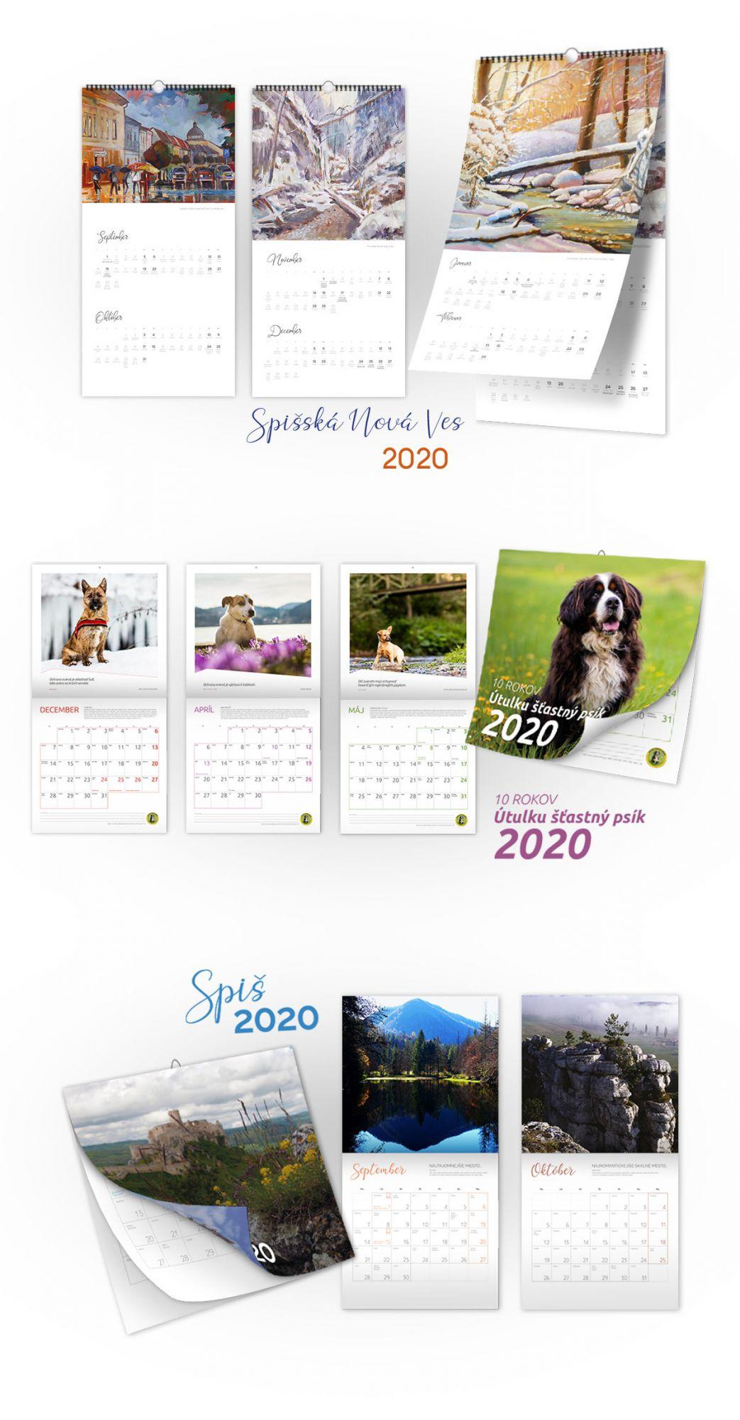 Referencia kalendáre pre rok 2020 - magnetica.sk