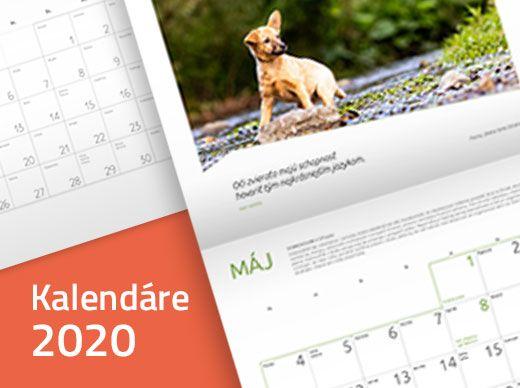 Kalendáre pre rok 2020