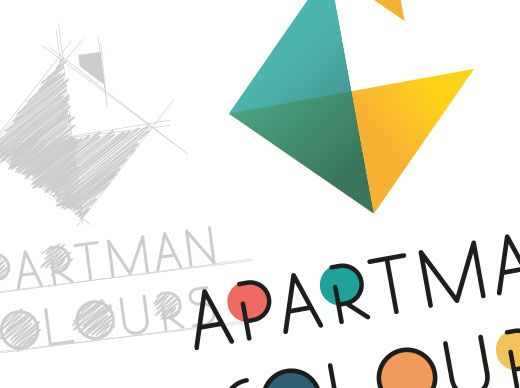 Logo Apartman Colours