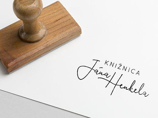 Logo knižnica Jána Henkela