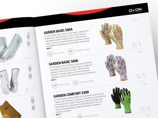 OX-ON Katalóg rukavíc