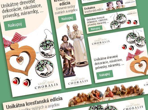 Jarná reklamná kampaň pre choralis.art